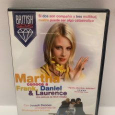 Cine: S420 MARTHA CONOCE A FRANK DANIEL & LAURENCE DVD COMO NUEVO. Lote 245780080