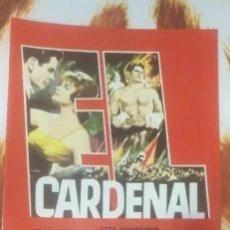 Cine: LOTE DVD EL CARDENAL (DESCATALOGADO CON JOHN HUSTON,JOHN SAXON, RAF VALLONE, ROMY SCHNEIDER). Lote 245780120