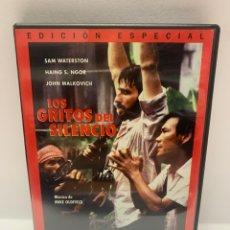 Cine: S420 LOS GRITOS DEL SILENCIO DVD COMO NUEVO. Lote 245780190