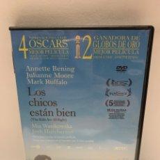 Cine: S420 LOS CHICOS ESTÁN BIEN DVD COMO NUEVO. Lote 245780290