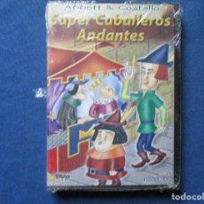 Cine: DVD - ABBOTT & COSTELLO / SUPER CABALLEROS ANDANTES / NUEVA Y PRECINTADA / RARA. Lote 245781235
