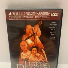 Cine: S420 TIGRE Y DRAGÓN DVD COMO NUEVO. Lote 245781365
