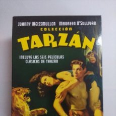 Cine: DVD/COLECCION TARZAN/JOHNNY WEISSMULLER.. Lote 245781915