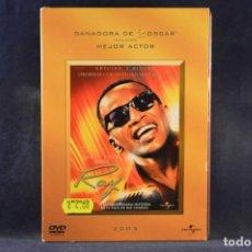 Cine: RAY (RAY CHARLES) - GANADORA DE 2 OSCAR INCLUIDO MEJOR ACTOR - 2 DVD. Lote 245909035