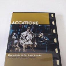 Cinema: S113 ACCATTONE - DVD COMO NUEVO. Lote 245922930
