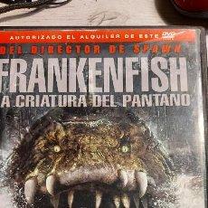 Cine: DVD FRANKENFISH LA CRIATURA DEL PANTANO DIRIGIDA POR SPAWN. Lote 245946240