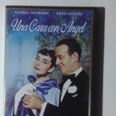 Cine: UNA CARA CON ANGEL - AUDREY HEPBURN - DVD. Lote 246004920