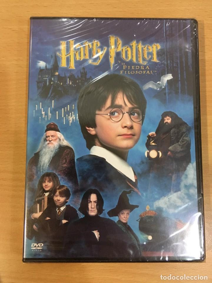 DVD HARRY POTTER Y LA PIEDRA FILOSOFAL (2001). PRECINTADO (Cine - Películas - DVD)