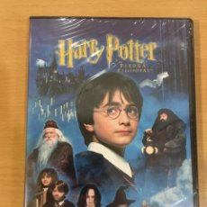 Cine: DVD HARRY POTTER Y LA PIEDRA FILOSOFAL (2001). PRECINTADO. Lote 246014295