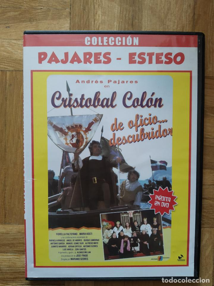 PELICULA DVD. CRISTOBAL COLON. ANDRES PAJARES. JUANITO NAVARRO. ANTONIO OZORES. RAFAELA APARICIO (Cine - Películas - DVD)