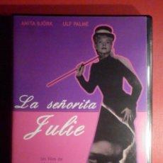 Cine: PELICULA EN DVD - FILM - LARGOMETRAJE - LA SEÑORITA JULIE - DE ALF SJÖBERG -. Lote 246166070