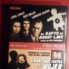 Cine: PELICULA EN DVD - FILM - LARGOMETRAJE - NEGRO - EL RAPTO DE BUNNY LAKE - CHANTAJE CONTRA UNA MUJER. Lote 246166625
