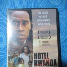 Cine: DVD , HOTEL RWANDA, PRECINTADO A ESTRENAR. Lote 246227435