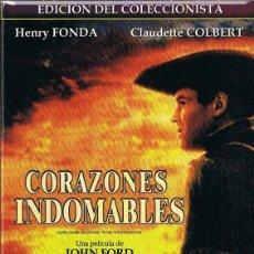 Cine: CORAZONES INDOMABLES HENRY FONDA EDICIÓN DEL COLECCIONISTA. Lote 246229255