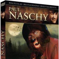 Cine: COLECCION PAUL NASCHY VOL. 2 4 DVD EL CAMINANTE - LATIDOS DE PANICO ETC. NUEVA PRECINTADA. Lote 288606688