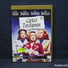 Cinema: CARTA A TRES ESPOSAS - DVD. Lote 246502750