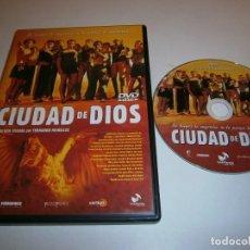 Cinéma: CIUDAD DE DIOS DVD DVD FDO MEIRELLES. Lote 246549765