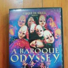 Cine: EL CIRCO DEL SOL: A BAROQUE ODYSSEY. Lote 246845200