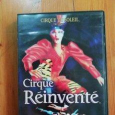 Cine: EL CIRCO DEL SOL: CIRQUE REINVENTE. Lote 246845595