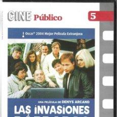 Cine: LAS INVASIONES BÁRBARAS. PEDIDO MÍNIMO EN DVD´S : 4 TÍTULOS. Lote 288583403