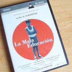 Cine: LA MALA EDUCACIÓN, DE PEDRO ALMODÓVAR PELICULA DVD 2004. Lote 247445490