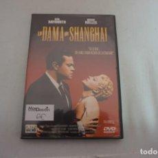 Cinéma: 11-A/ 1 X DVD - LA DAMA DE SHANGHAI - RITA HAYWORTH. Lote 247492050