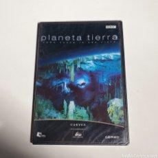 Cinema: DVD, DOCUMENTAL, PLANETA TIERRA, CUEVAS, NUEVO SIN ESTRENAR PRECINTO ORIGINAL.. Lote 247658660