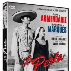 Cinéma: LA PERLA (PEDRO ARMENDARIZ, MARIA ELENA MARQUES) - DVD NUEVO Y PRECINTADO. Lote 262875915