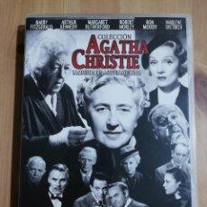 Cine: DIEZ NEGRITOS / EL TREN DE LAS 4:50 / ASESINATO A BORDO / DESPUÉS DEL FUNERAL (AGATHA CHRISITE) DVD. Lote 248835630