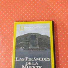 Cine: DVD LAS PIRÁMIDES DE LA MUERTE-NATIONAL GEOGRAPHIC. Lote 249552470