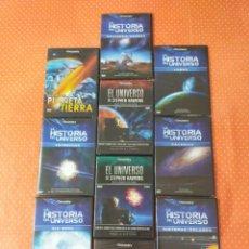 Cine: 10 DVD DE DISCOVERY CHANEL SOBRE ASTRONOMÍA. Lote 249558035