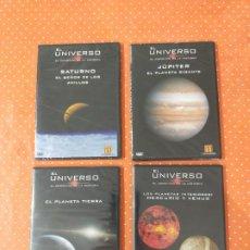 Cine: 4 DVD DE DOCUMENTALES EL UNIVERSO, DEL CANAL DE HISTORIA.. Lote 249562100