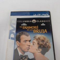 Cinema: S35 ME ENAMORÉ DE UNA BRUJA - DVD SEGUNDA MANO. Lote 250153060