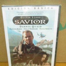 Cine: DVD - SAVIOR - OLIVER STONE - DENNIS QUAID - PRECINTADA - PEDIDO MINIMO DE 10€. Lote 250217085