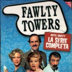 Cine: FAWLTY TOWERS DVD (3-DVD. SERIE COMPLETA) HOTELITO CAOS ..SI NO TE VAS MAÑANA, ERES UN MASOCA (LEER.. Lote 250342645