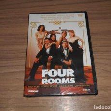 Cine: FOUR ROOMS DVD DE QUENTIN TARANTINO ANTONIO BANDERAS MADONNA NUEVA PRECINTADA. Lote 295864783