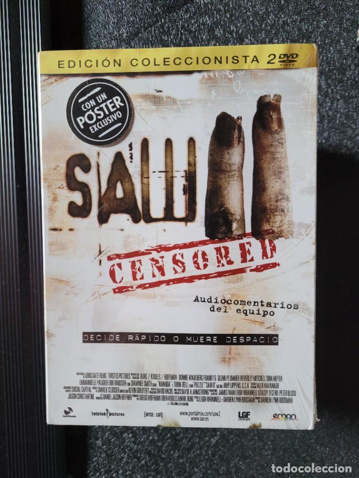 SAW 2 DVD PRECINTADA EDICION ESPECIAL 2 DISCOS INCLUYE POSTER DONNIE WHALBERG (Cine - Películas - DVD)