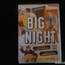 Cinema: THE BIG NIGHT - CON LIBRETO - DVD COMO NUEVO. Lote 251659180