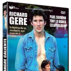 Cine: STONY, SANGRE CALIENTE (RICHARD GERE, PAUL SORVINO) - DVD NUEVO Y PRECINTADO. Lote 288607098