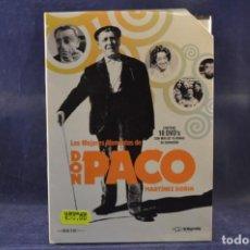 Cine: DON PACO MARTÍNEZ SORIA - LOS MEJORES MOMENTOS (COLECCIÓN COMPLETA) - 10 DVD. Lote 251881515