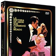 Cine: MARGARITA GAUTIER (GRETA GARBO, ROBERT TAYLOR) - DVD NUEVO Y PRECINTADO. Lote 288606963