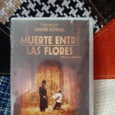 Cine: DVD MUERTE ENTRE LAS FLORES (PRECINTADO). Lote 251981705