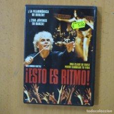 Cinema: ESTO ES RITMO - DVD. Lote 252013630