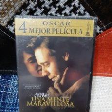 Cine: DVD UNA MENTE MARAVILLOSA (PRECINTADO). Lote 252059010