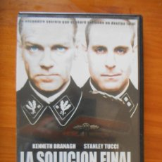 Cinema: DVD LA SOLUCION FINAL - KENNETH BRANAGH (O7). Lote 252146225