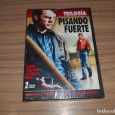 Cine: PISANDO FUERTE TRILOGIA COMPLETA DVD PISANDO FUERTE I - II III NUEVA PRECINTADA. Lote 277715443
