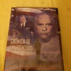 Cine: DVD CRONICA DE UN ATENTADO (PRECINTADO). Lote 252235060