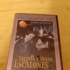 Cine: DVD TREINTA Y NUEVE ESCALONES (PRECINTADO). Lote 252235190