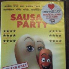 "Cine: DVD "" OJO SOLO PARA ADULTOS "" SAUSA PARTY EN INGLÉS. Lote 252521670"