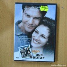 Cinema: ALGO DE QUE HABLAR - DVD. Lote 253221030